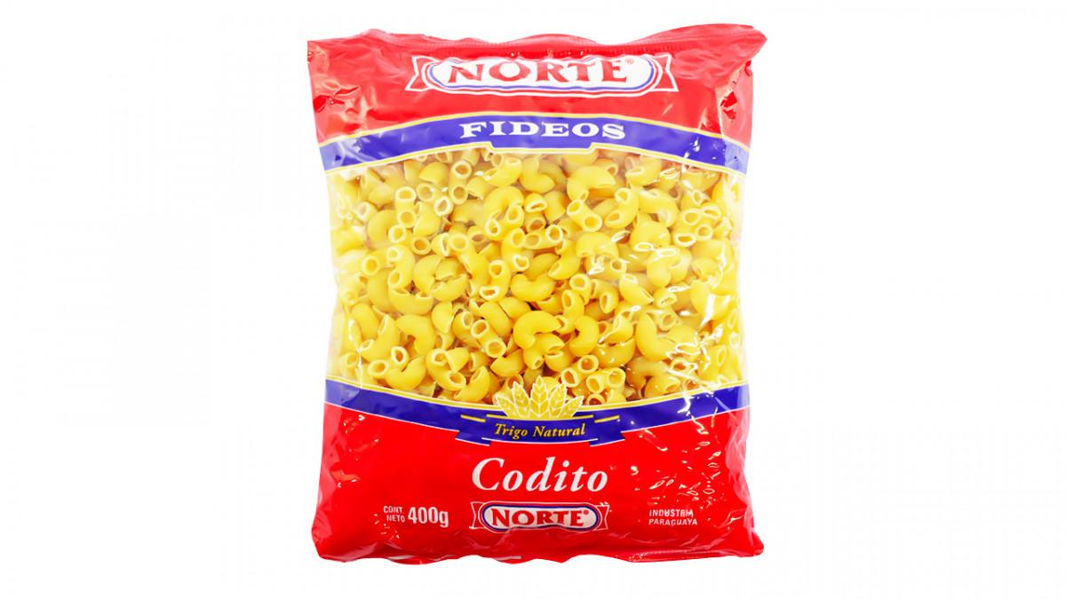 Fideo NORTE 400 gr. coditos