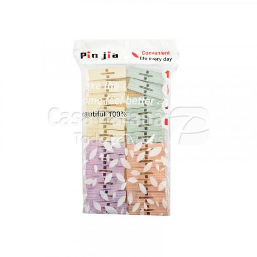 Pinza p/ropa de plastico Ref. GM-2616 1x120