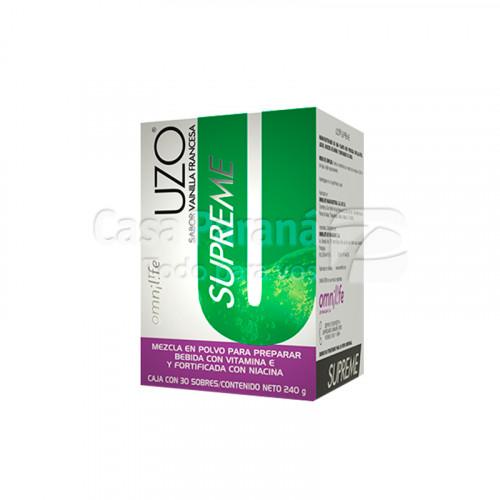 UZO SUPREME Celulas Natural Killer (Salvado de Arroz, Niacina, Selenio, Fibra de Avena)