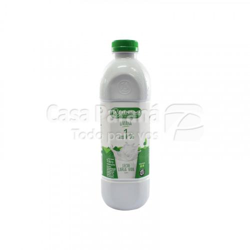 Leche uat LA SERENISIMA 1 lts. botella descremada