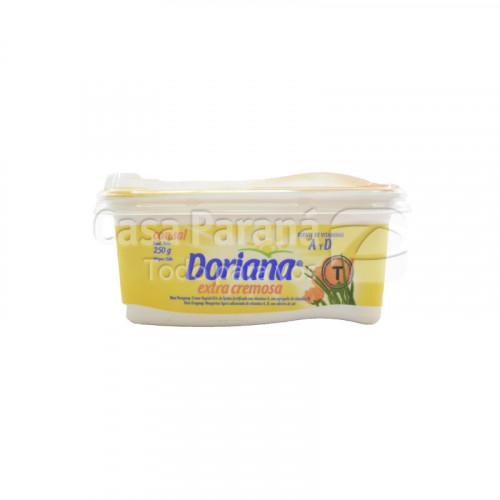Manteca DORIANA 250 gr. cremosa con sal