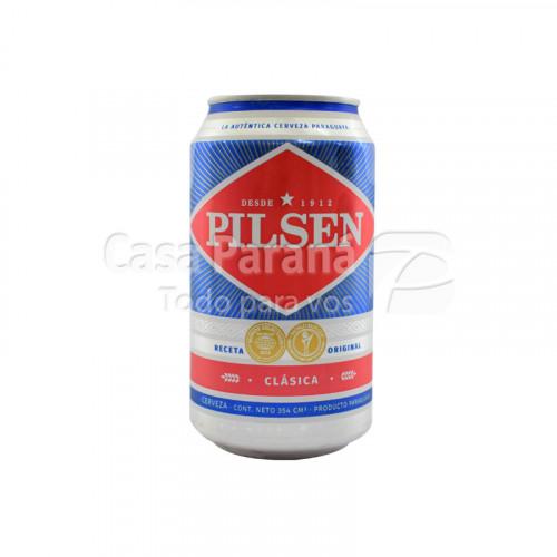 Cerveza PILSEN 354 cm3. lata