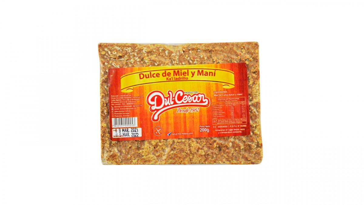 Dulce de miel y mani DUL-CESAR 200 gr.