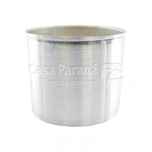 Molde de aluminio para pan dulce de 1 K.