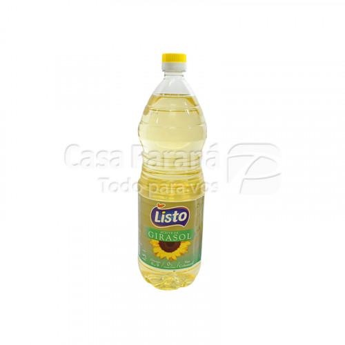 Aceite de girasol LISTO 1500 ml.