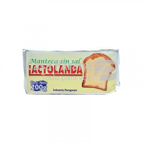 Manteca sin sal de 200 gr