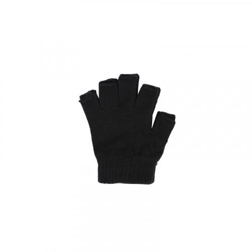 Guante para caballero sin dedos negro talle unico
