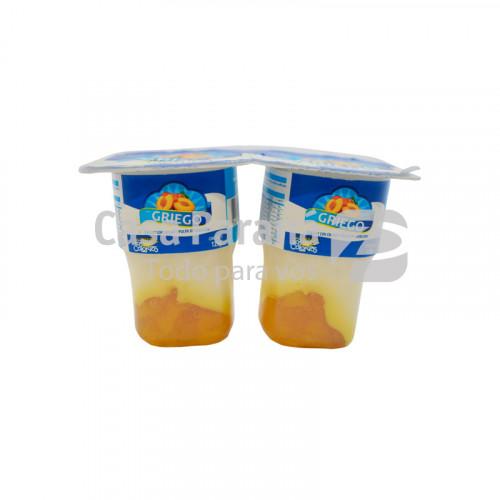 Yoghurt natural de durazno de 125ml