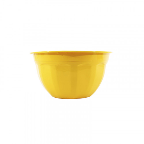 Macetero de plastico Amarillo No. 18