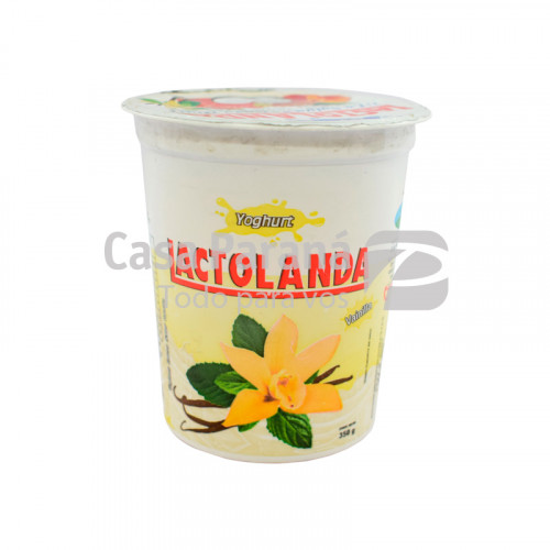 Yoghurt sabor vainilla de 350 gr