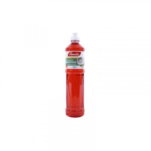 Detergente AMITA 500 cc. manzana