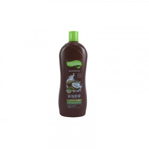 Shampoo ALGABO 930 ml. coco/leche