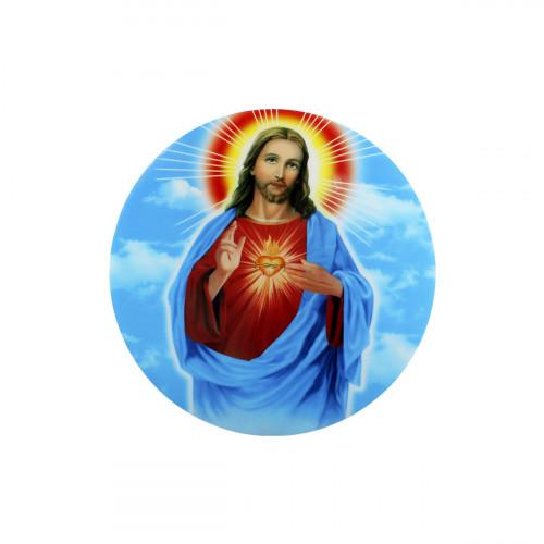Jesus misericordioso LED circular 33 CM.
