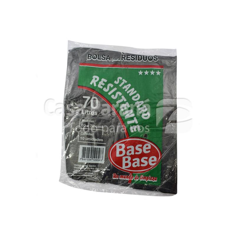 Bolsa para basura resistente 70lts