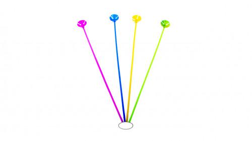 Porta globo multicolor