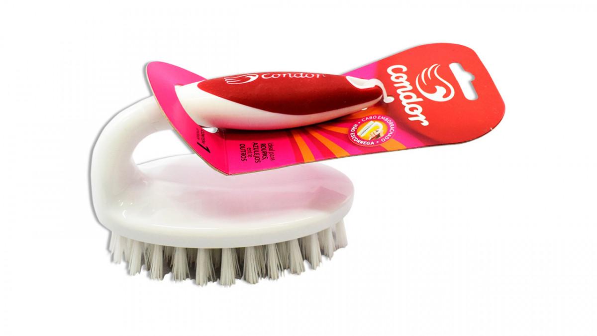Cepillo para lavar ropa de plastico con mango