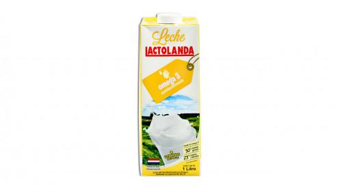 Leche LACTOLANDA semidescremada con omega 1l.