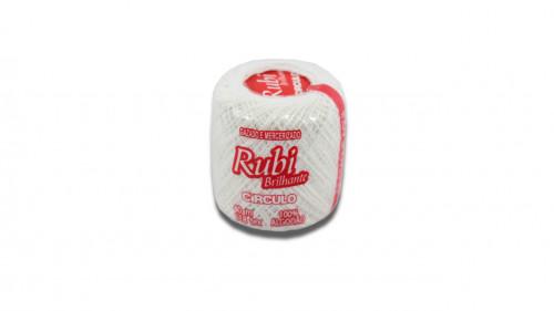 Hilo para crochet color blanco de 40 m