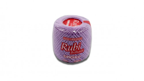 Hilo para crochet color lila de 40m