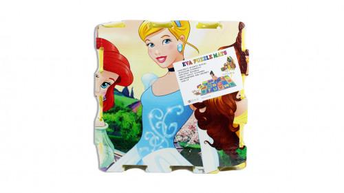 Alfombra de goma eva diseño de princesa