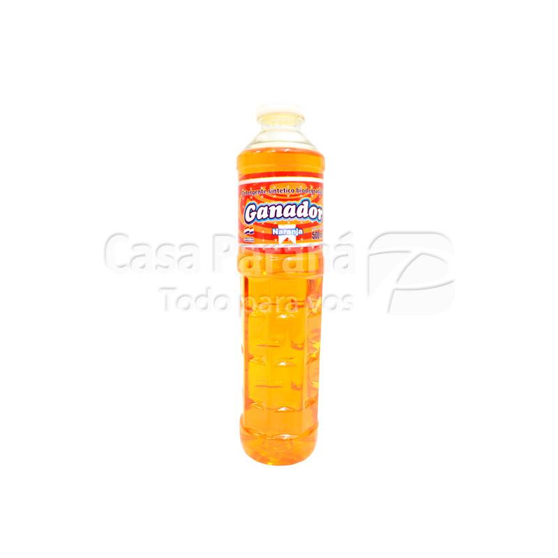 Detergente Naranja de 500ml.