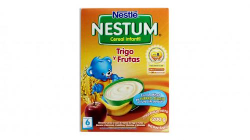 Cereal NESTLE NESTUM 200 gr. trigo con frutas
