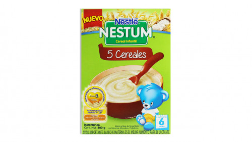 Cereal NESTUM 200 gr. 5 cereales