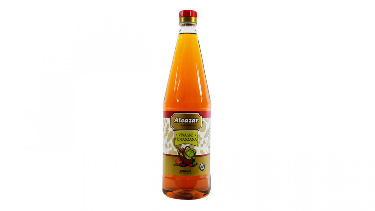 Vinagre ALCAZAR 1000 cc. de manzana