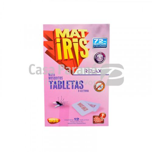 Pastilla para mosquitos relax 12 tabletas