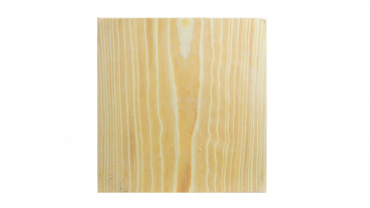 Plato cuadrado de madera para picada 22x2.5