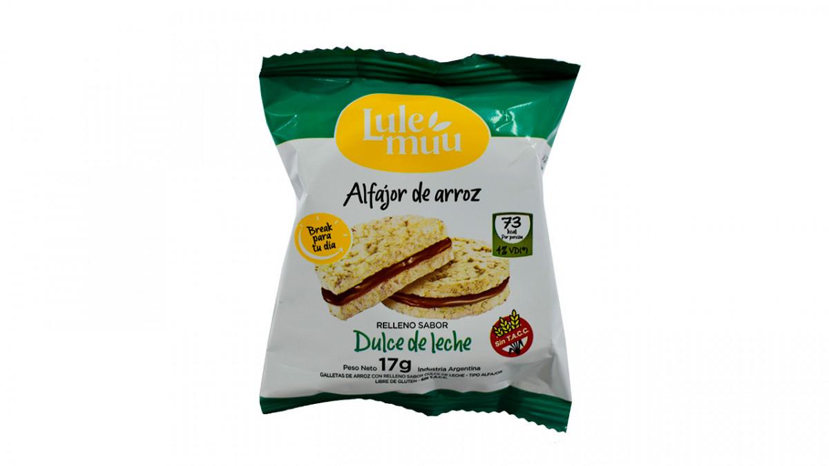 ALFAJOR LULE DE ARROZ DDL