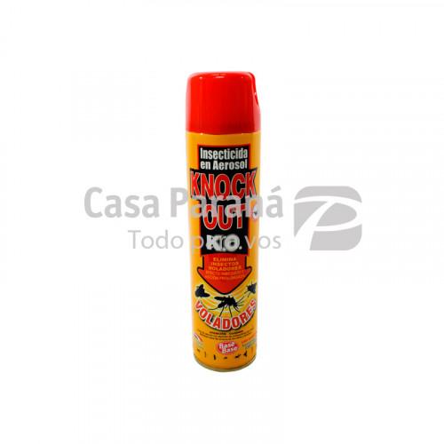 Insecticida en aerosol Knock out mata insectos voladores 330ml