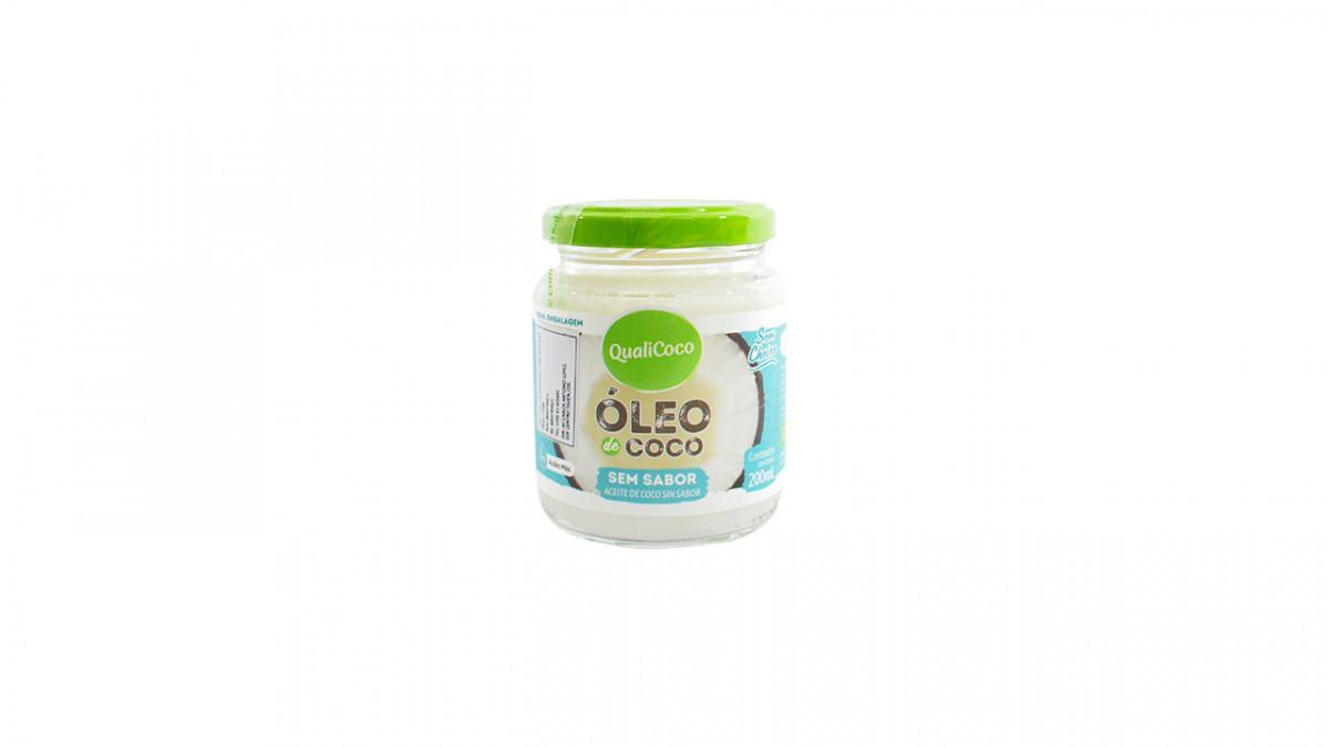 Aceite de coco sin sabor de 200 ml