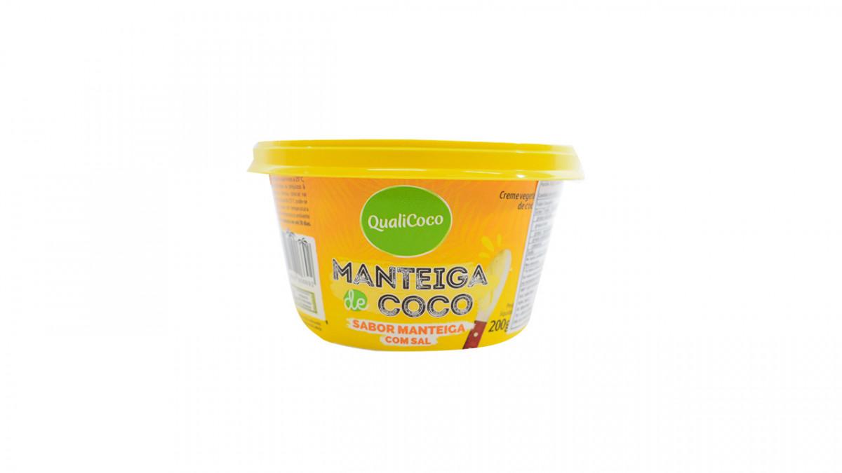 Manteca de coco sabor manteca de 200 gr