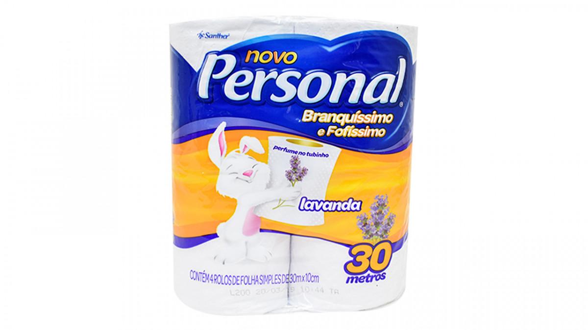 Papel Higienico perfumado aroma lavanda de 4 unidades