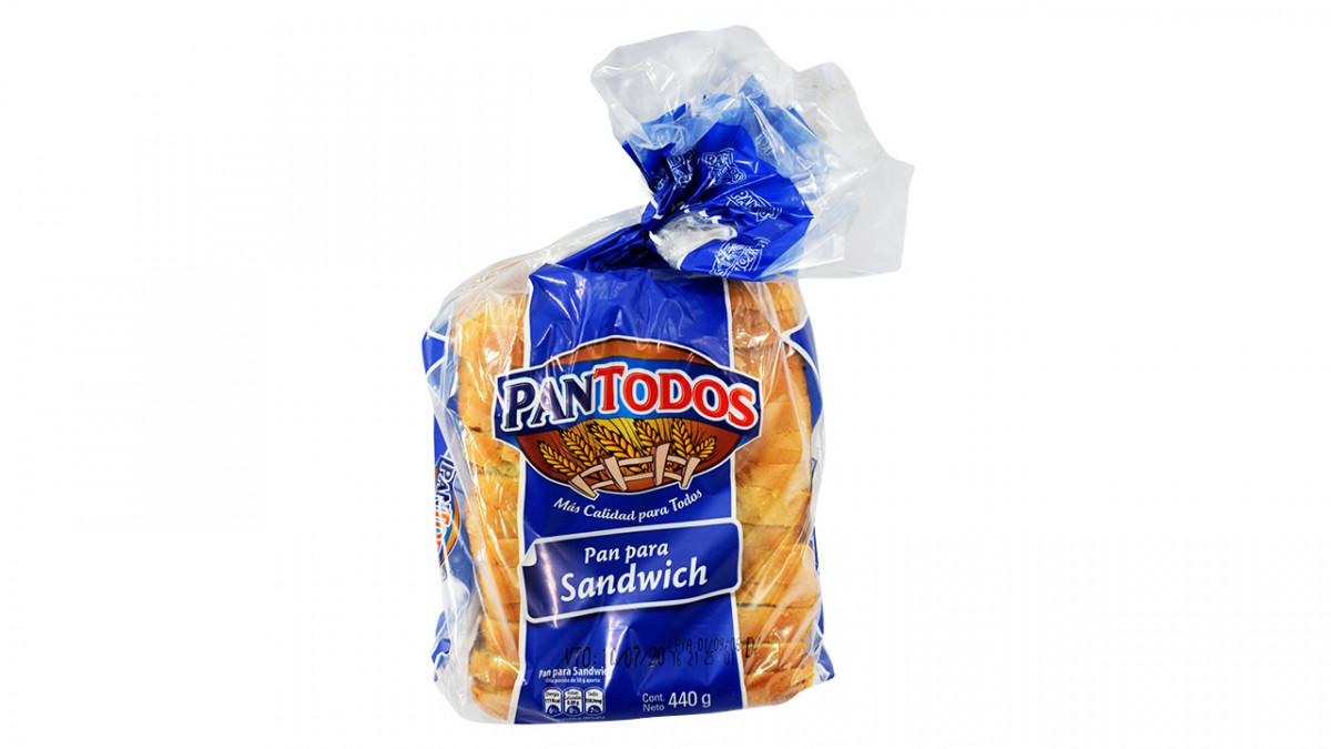 Pan de miga para sandwich de 460 gr