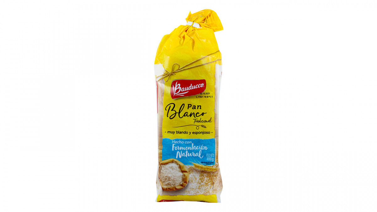 Pan para sandwich blanco bauducco 400gr