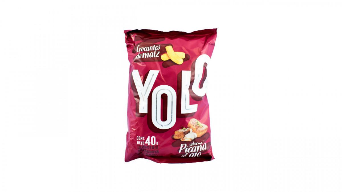 Bocadito de maiz sabor picaña al ajo de 40gr