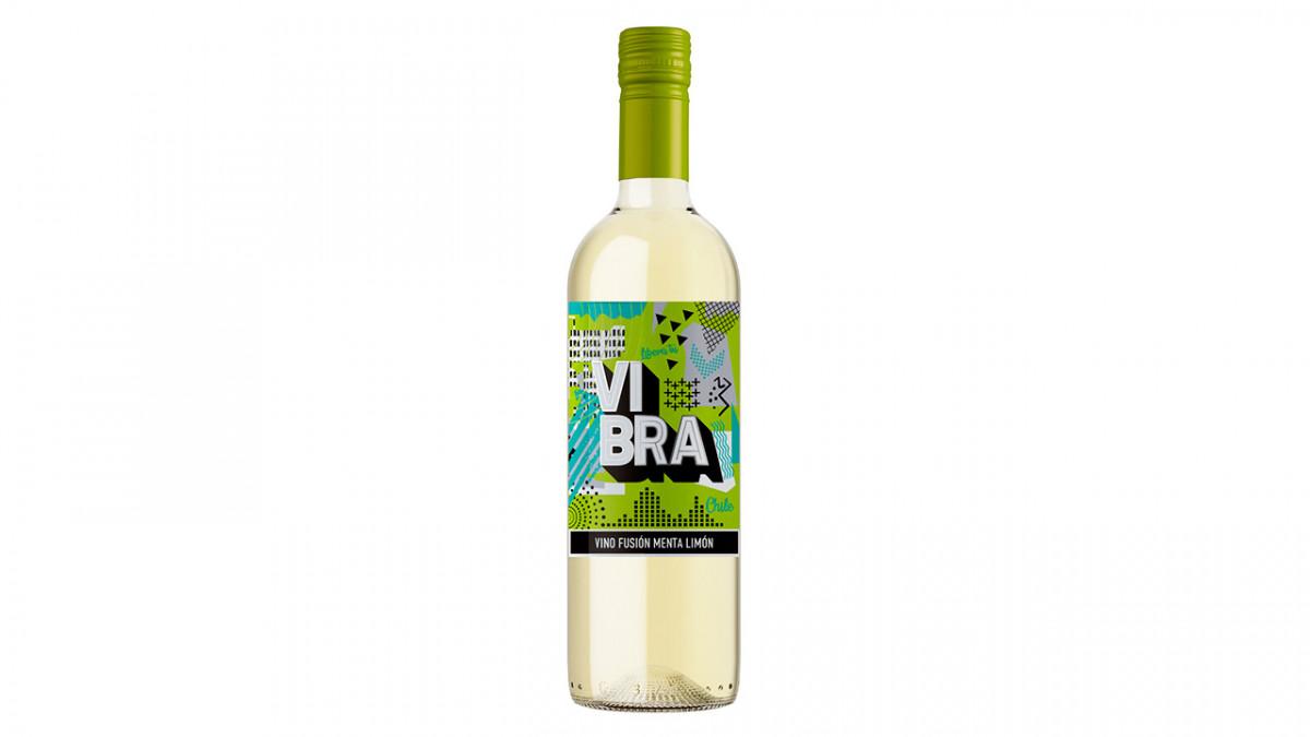 Vino vibra sabor menta limon de 750ml