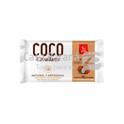 Jabon de coco puro 200gr.