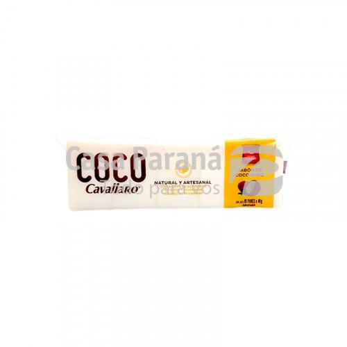 Jabon de coco puro 100 unidades de  400gr.