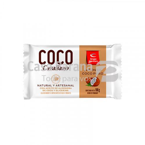 Jabon de coco puro 100gr.