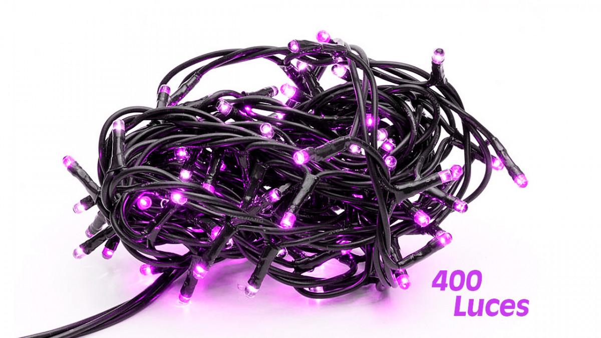 Foquito navideño 400 luces