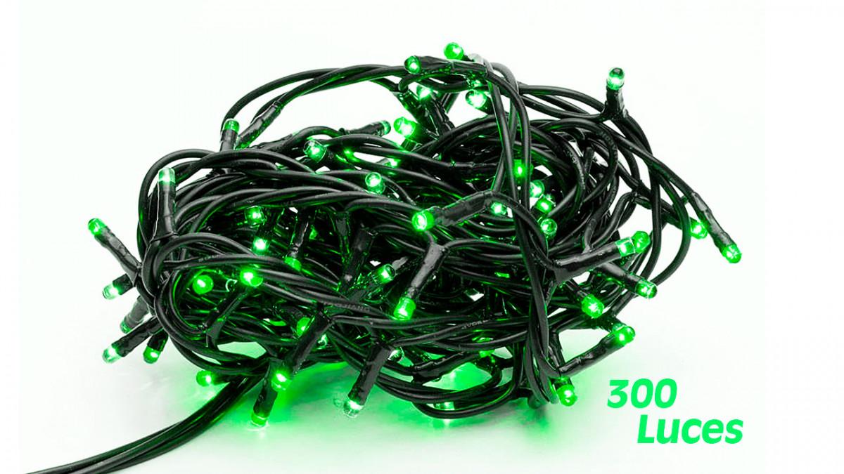 Foquito 300 luces verde