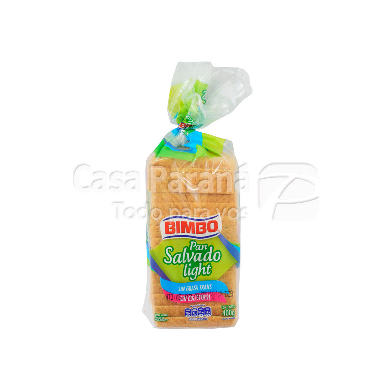 Pan para sandwich integral en paquete de 390g.