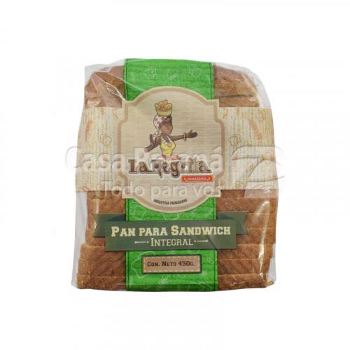 Pan de Sandwich integral en paquete de 450g