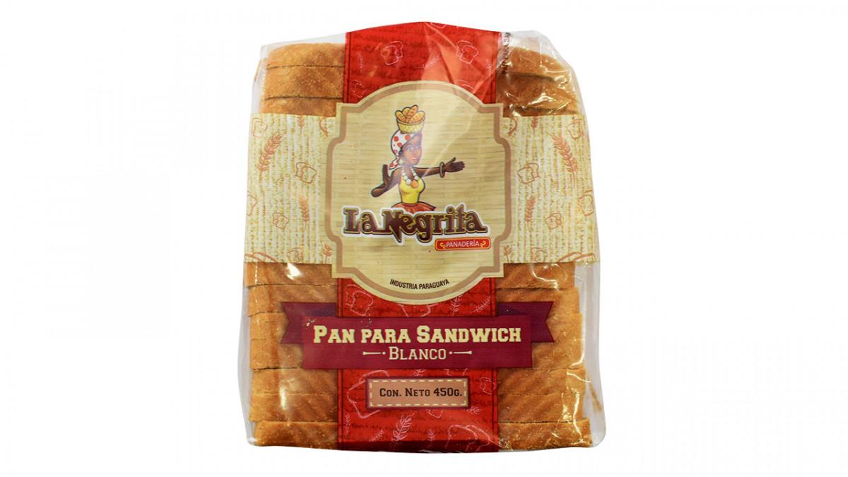Pan para sandwich blanco 450gr.