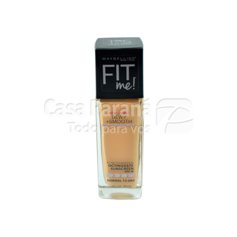 Base Fit me nude beige nro 125