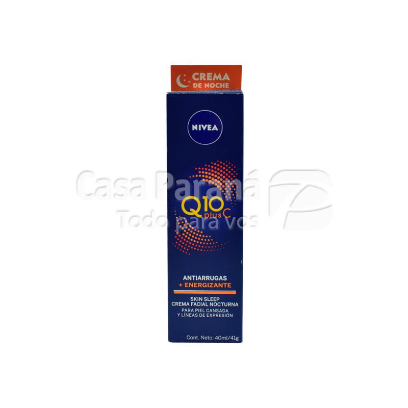Crema corporal con Q10 + energizante para la noche de 40gr