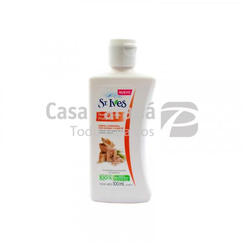 Crema corporal con avena y karite de 100 ml